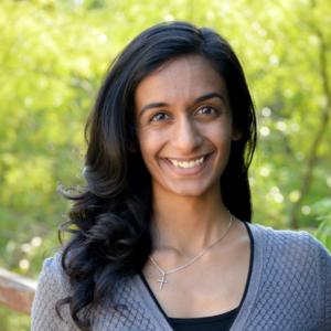 Headshot of Sangeetha Thomas, LPC-Associate